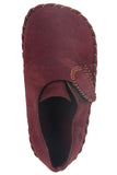 Wine Suede Shoes