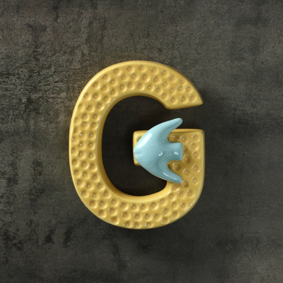 Goldy Fish Letter G