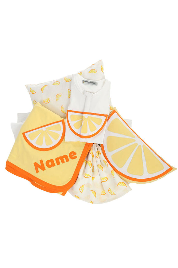 Organic Citrus bedding set