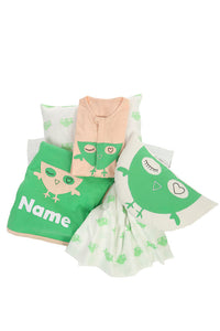 Organic Mint bedding set