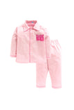 Baby Pink Babe Embroidered Nightwear