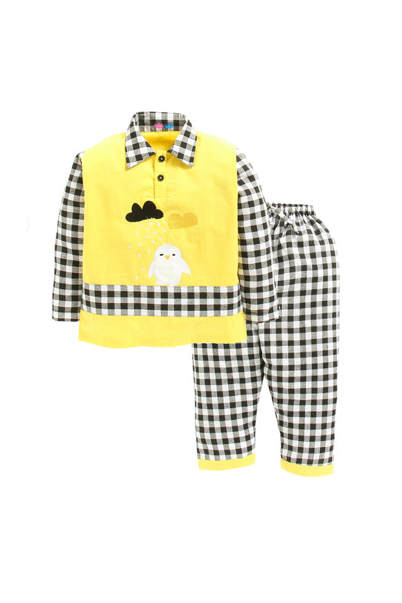 Checked Penguin Nightwear
