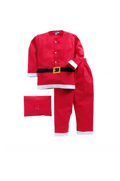 Santa theme red sleepwear! sleepwear for boys and girls, kids sleepwear, designer kids sleepwear, cute sleepwear for boys and girls