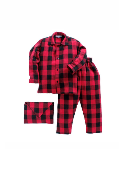 Red check sleepwear! sleepwear for boys, kids sleepwear, designer kids sleepwear, cute sleepwear for boys