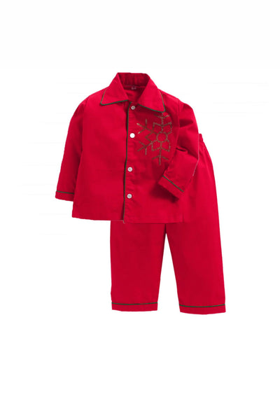Snow flakes christmas sleepwear! sleepwear for boys and girls, kids sleepwear, designer kids sleepwear, cute sleepwear for boys and girls