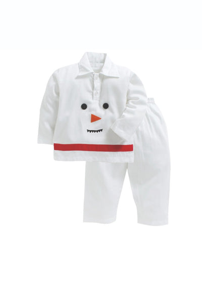 Snow man christmas sleepwear! sleepwear for boys, kids sleepwear, designer kids sleepwear, cute sleepwear for boys