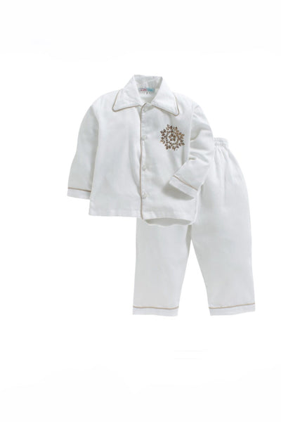 White snowflake sleepwear! sleepwear for boys and girls, kids sleepwear, designer kids sleepwear, cute sleepwear for boys and girls