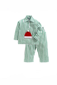 Santa cap sleepwear! sleepwear for boys and girls, kids sleepwear, designer kids sleepwear, cute sleepwear for boys and girls