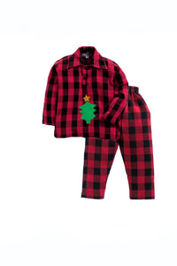 Christmas tree sleepwear! sleepwear for boys, kids sleepwear, designer kids sleepwear, cute sleepwear for boys