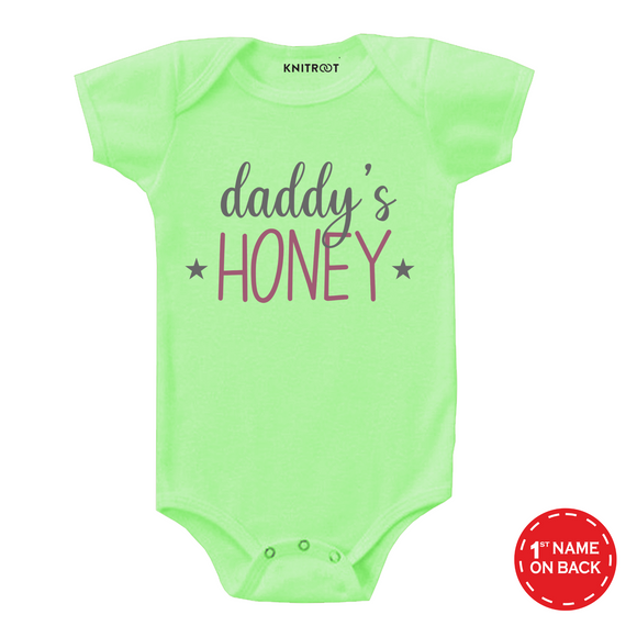Daddy's honey father's day onesie