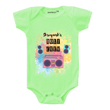 Personalised the holi crew baby romper