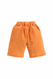Summer Set Of White Shirt With Orange Shorts