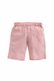 Summer Set Of Light Grey Shirt With Baby Pink Shorts