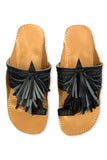 Leela Navy Blue Slipper