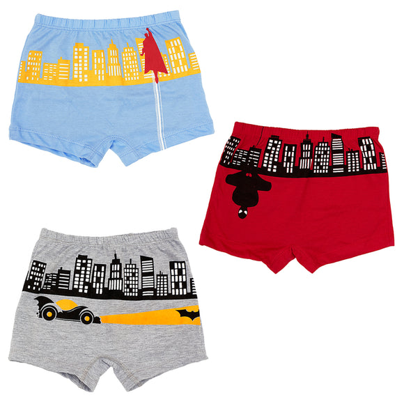 Boys mighty men boxer shorts