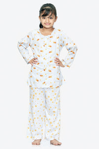 Bees Cotton Nightsuit