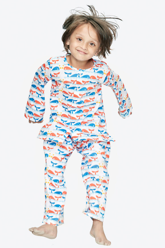 Dolphin Cotton Nightsuit