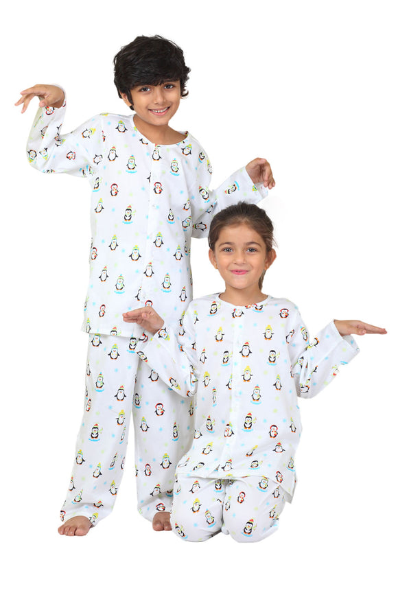 Penguin Cotton Nightsuit