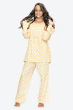 Star Cotton Nightsuit - Girls