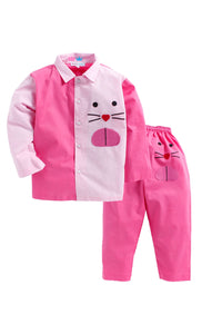 Shades of Pink Catty Sleepwear