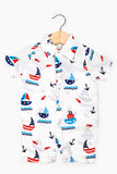 Nautical Boy's romper