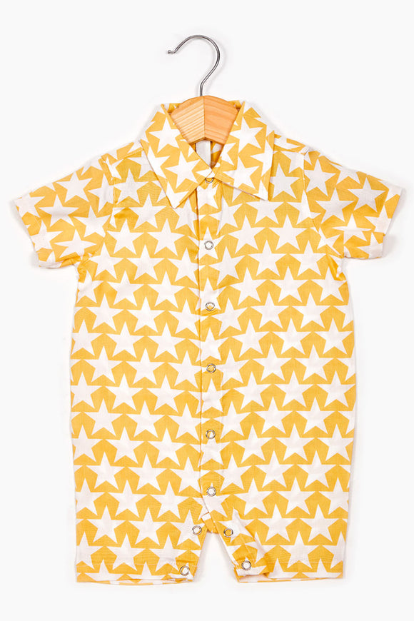 Star Boy's romper