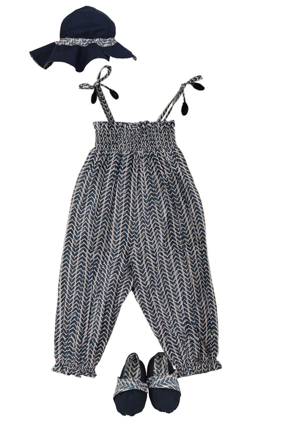 Gigi Romper Set Leaves