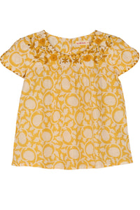 Sansa Top Yellow