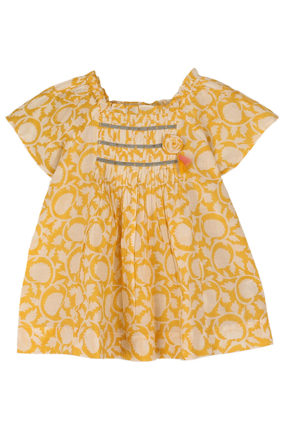 Sonia Top Yellow