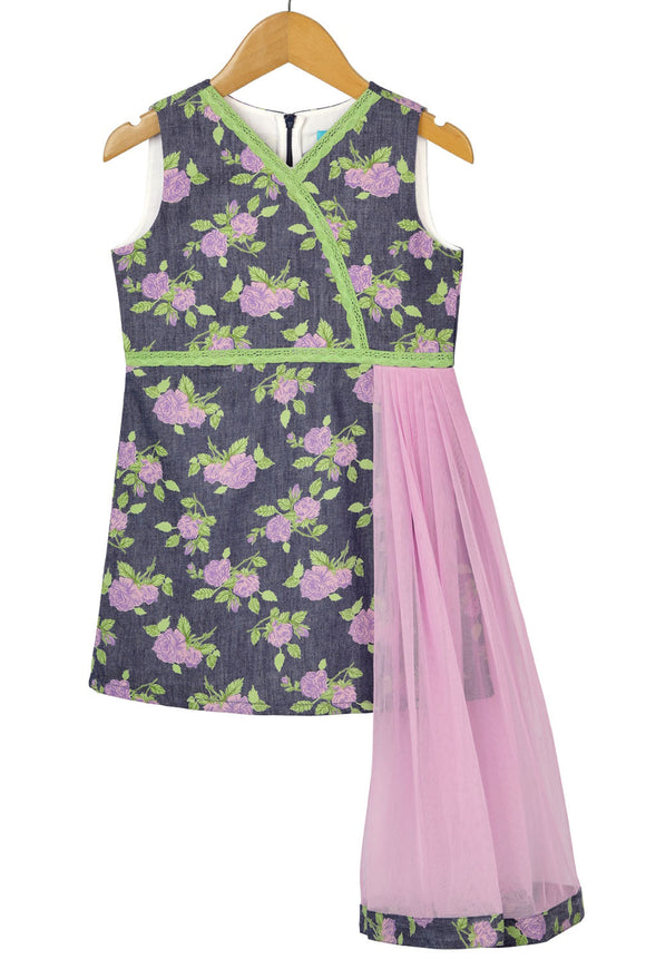 Lavender Shrub Dress