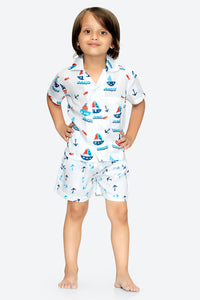 Nautical Shirt with Shorts