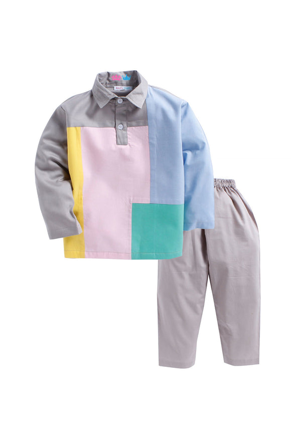 Shades of Pastel color Sleepwear