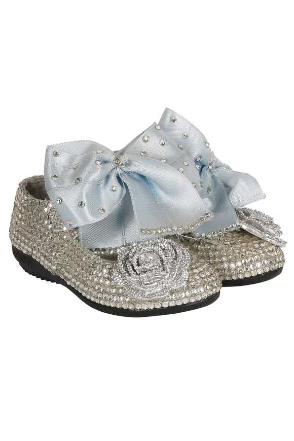 Pre Order: silver with bow and flower bellies