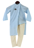 Blue Kurta with Churidar