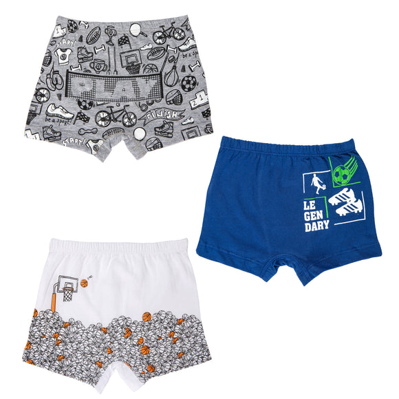 Boys outdoor sports boxer shorts