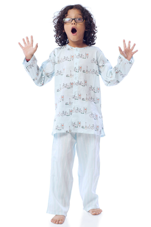 Cycle Cotton Nightsuit