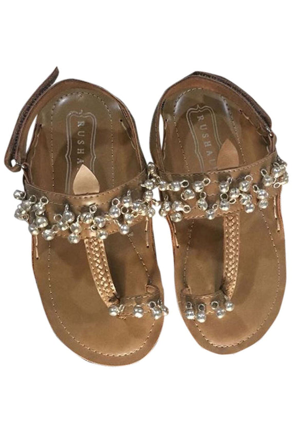 Natural with silver brass bells flats