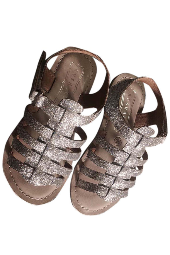 Silver Glitters Sandals