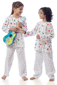 Music Cotton Nightsuit