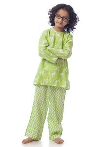 Giraffe Cotton Nightsuit