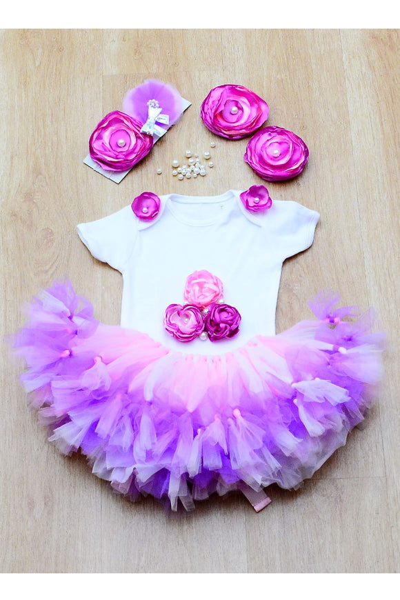 Purple Butterfly Tutu Outfit