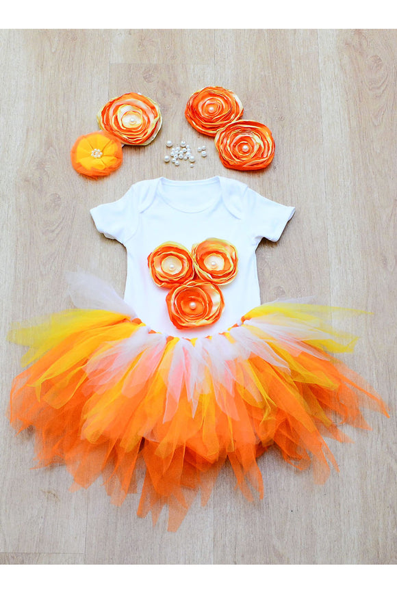 Flower Girl Tutu Outfit