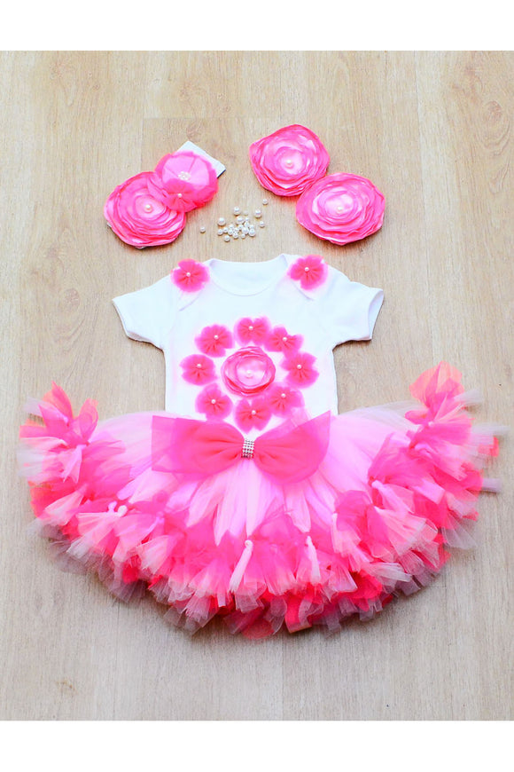 Pink Butterfly Tutu Outfit