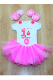 Pink Fairy First Birthday Tutu Outfit