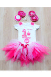 Cupcake First Birthday Tutu Outfit