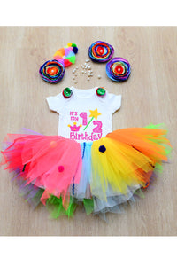 Candyland Half Birthday Tutu Outfit