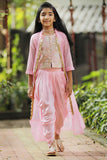 Angel Wings Jacket & Dhoti Set
