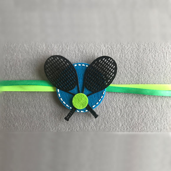 Handmade Tennis Ball Rakhi