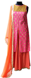 Coral Polka printed Kurta for Mother