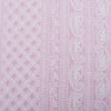 Spring Pink Georgette Embroidered Fabric